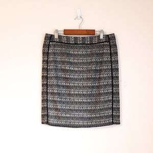 Liz Claiborne BLACK & White PENCIL Skirt